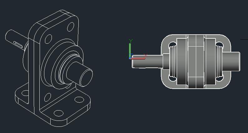 AutoCAD 3D ソリッド CADCIL