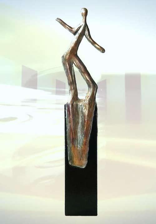 skulptur geschenk lebensfreude artesklassik skulpturen. Black Bedroom Furniture Sets. Home Design Ideas