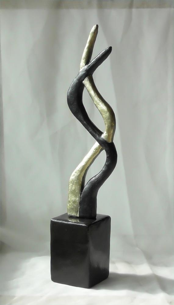 abstrakte skulpturen und deko figuren artesklassik. Black Bedroom Furniture Sets. Home Design Ideas