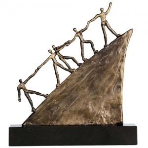 Skulptur zum Firmenjubiläum