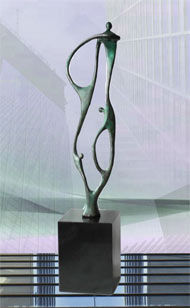 Skulptur Zusammenarbeit