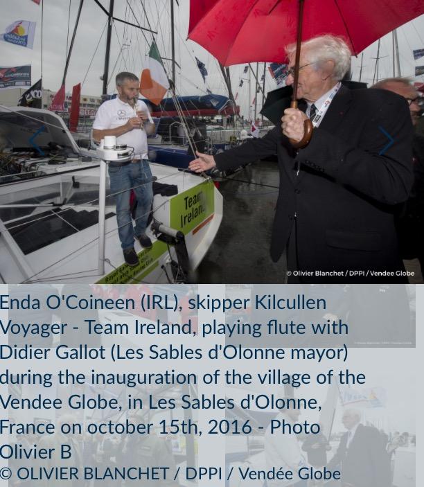 Kilcullen Voyager-Team Ireland号, Enda O'Coineen (アイルランド)