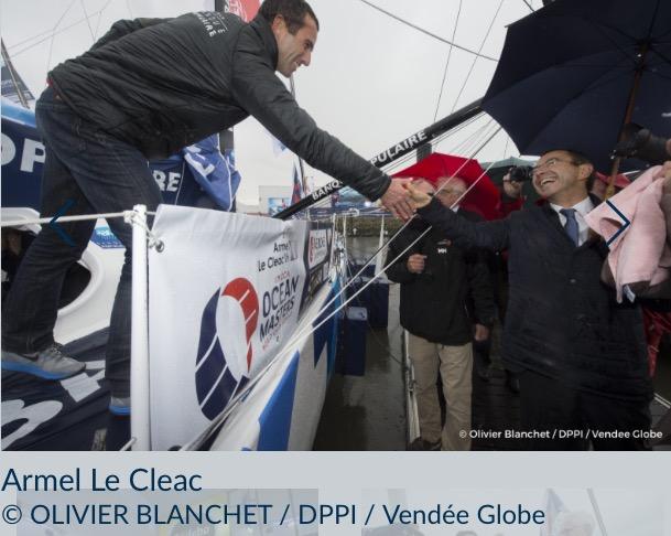 Banque Populaire号、Almel Le Cleac (仏)