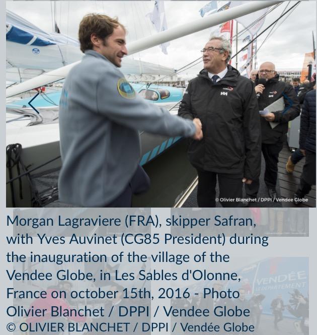 SAFRAN号、Morgan Lagraviere (仏)