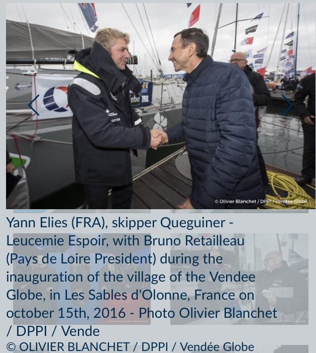 Queguiner-Leucemie Espoir号、Yann Elies (仏)