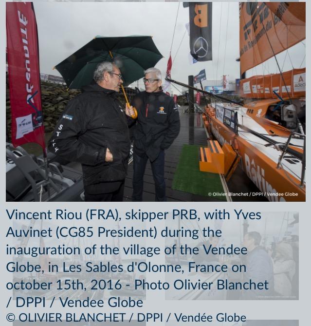 PRB号, Vincent Riou(仏)