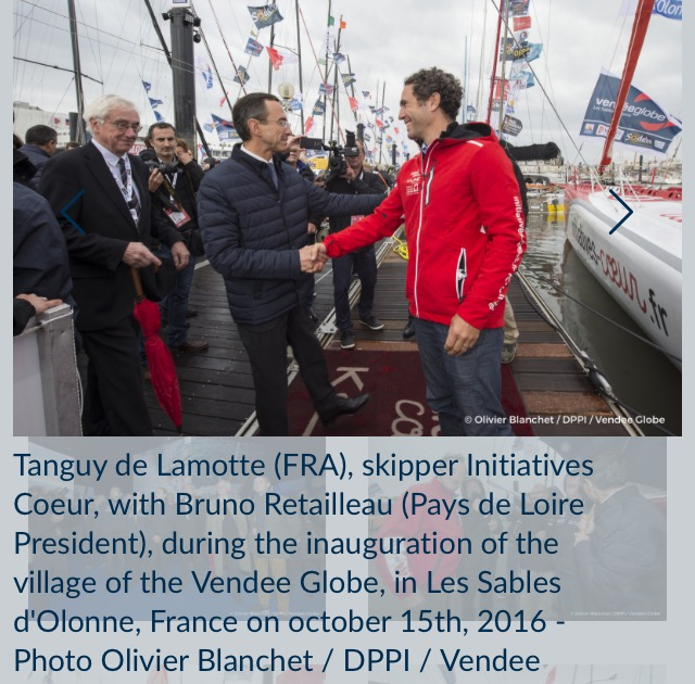 Initiatives Coeur号, Tanguy de Lamotte(仏)