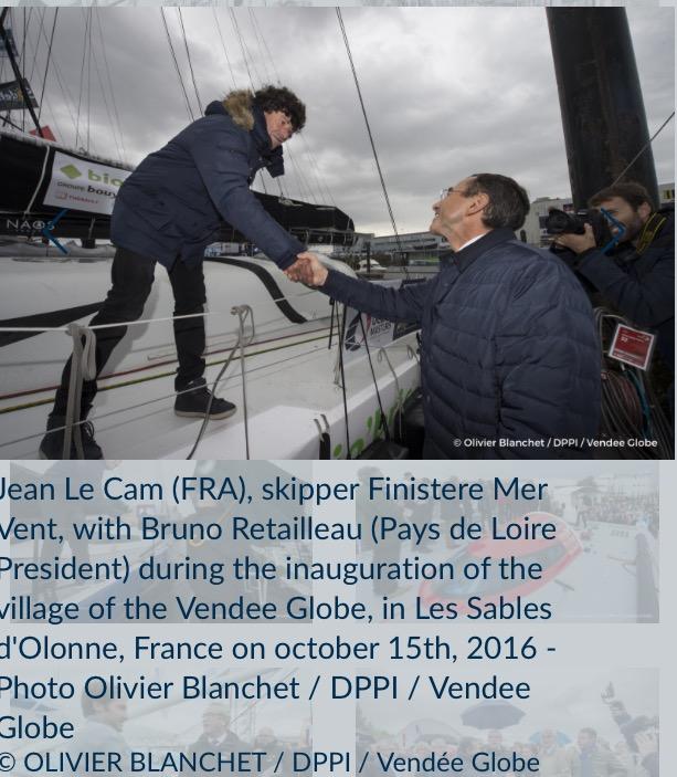 Finistere Mer Vent号、Jean Le Cam (仏)