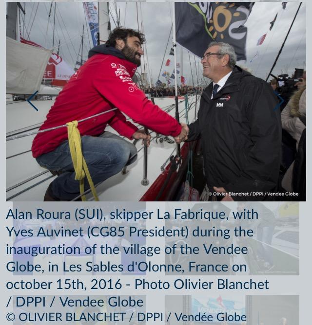La Fabrique号、Alan Roura (スイス)