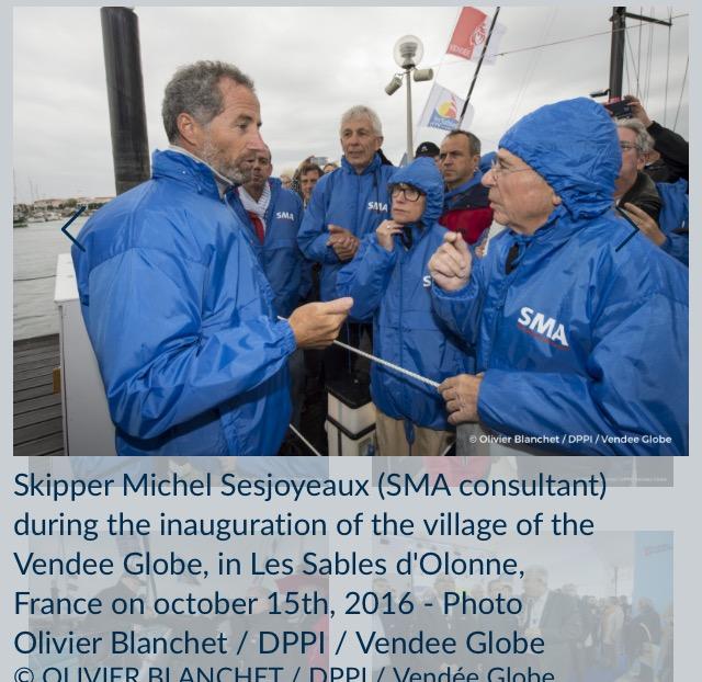 SMA号、Michel Sesjoyeaux (SMAコンサルタント)(仏)