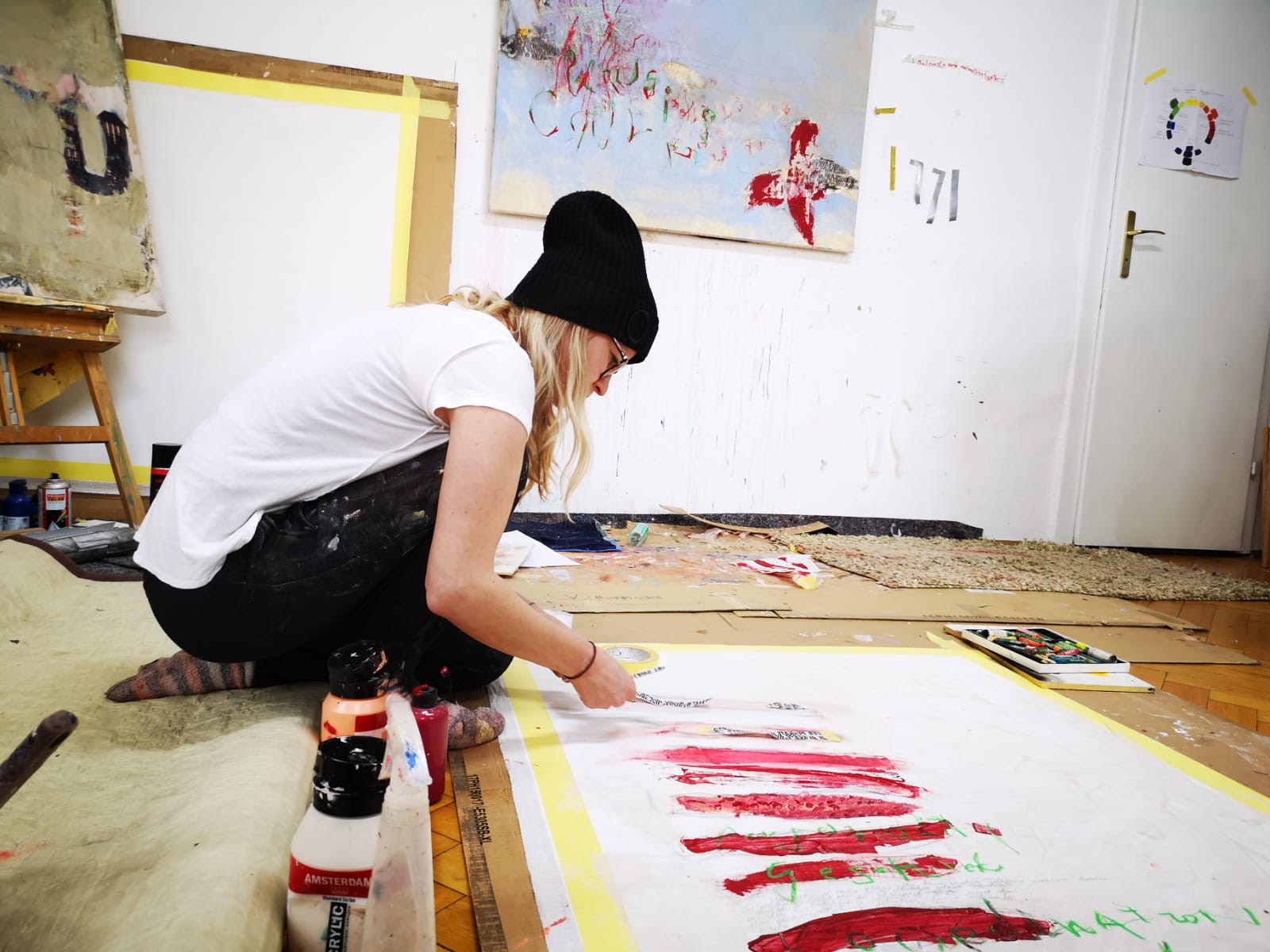 Atelier Einblick -  working place - creative place - My identity place ...