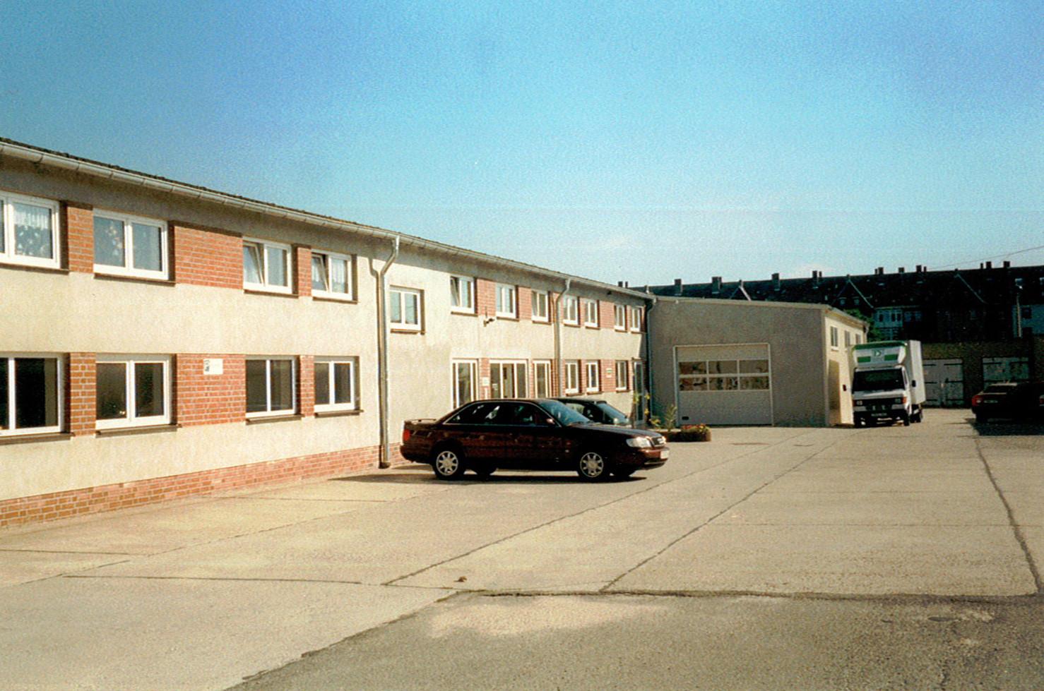 Aktueller Firmensitz in Zwickau-Pölbitz nach Einzug & Umbau - 1996