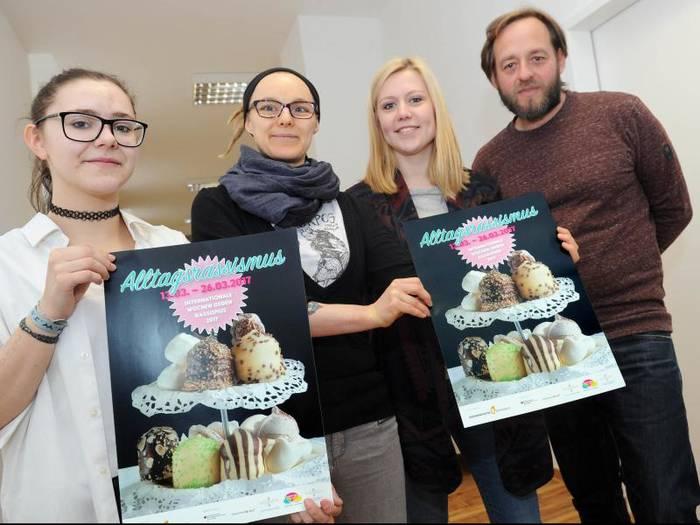 V. r. n. l. Hendrik Harteman, Melissa Groh, Verena Delto, Emely Dilchert – Foto wita/Paul Müller