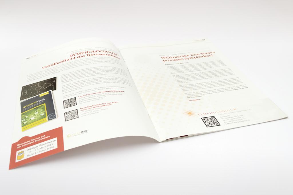 LymphoLife Magazin Redesign im Auftrag vom 8hdirekt
