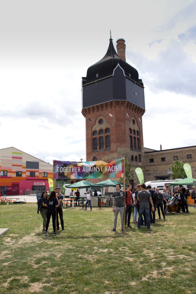 "Youth Culture Festival 2016 – Demo ""Together Against Racism"" - Werbebanner & Demobanner"