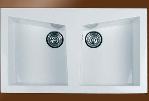 Fregaderos sinteticos bomdesa material de fontaneria for Fregadero 80x50