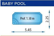 piscina poliester BABY-POOL