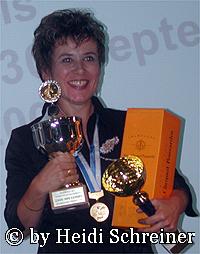 Auszeichnung Gold, Tagessieger, Gesamtsieger Kochartistik