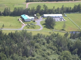 Entrance to East Mountain Ranch
