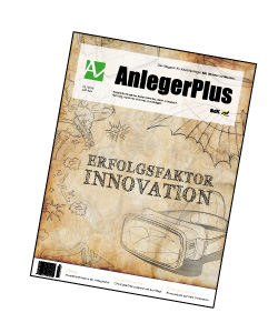 AnlegerPlus_Titelseite_Erfolgsfaktor Innovation