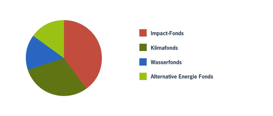 Impact Fondsportfolio mit unerwünschtem Klumpenrisiko