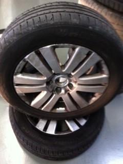 verschmutzte Reifen