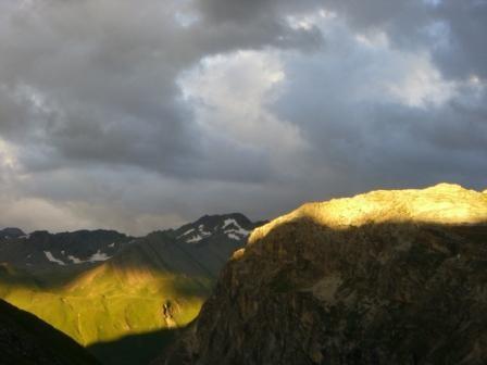 Vanoise : Roche des Fours (devant à droite) - AU BOUT DES PIEDS