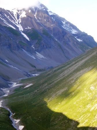 Vanoise : vallon de la Leisse - AU BOUT DES PIEDS