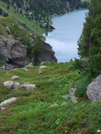 Vanoise : Plan d'Amont - AU BOUT DES PIEDS