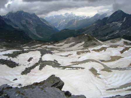 Vanoise : du col de Chavière, en direction de Pralognan - AU BOUT DES PIEDS