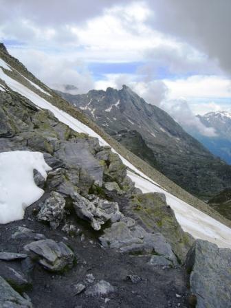 Vanoise : col de Chavière, côté Maurienne - AU BOUT DES PIEDS