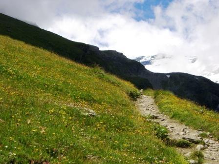Vanoise : au dessus du Termignon, en direction de l'Arpont - AU BOUT DES PIEDS
