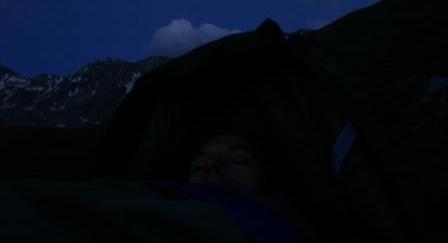 Vanoise : bivouac - AU BOUT DES PIEDS
