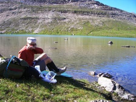 Vanoise : lac du Plan des Nettes (refuge de la Leisse) - AU BOUT DES PIEDS