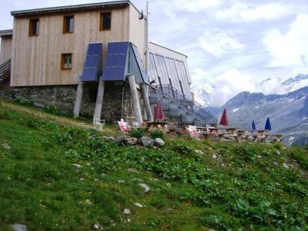Vanoise : refuge de Péclet Polset - AU BOUT DES PIEDS