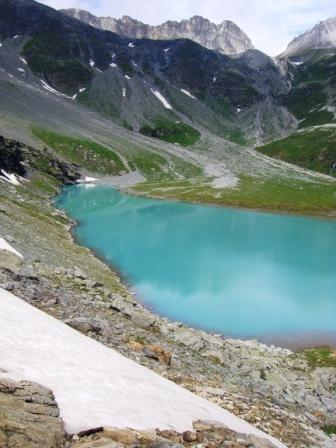 Vanoise : lac Blanc - AU BOUT DES PIEDS
