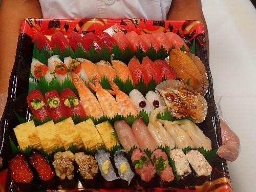 文京区向ヶ丘 納会 寿司 出前