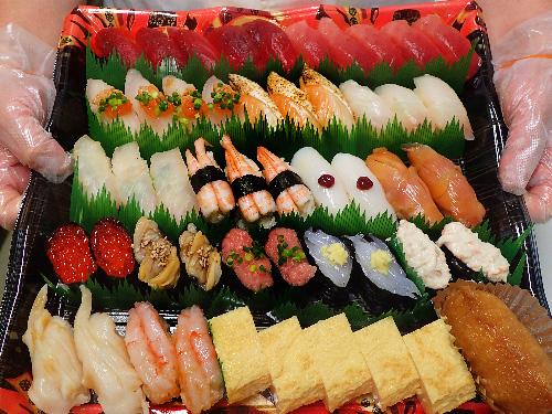 江戸川区葛西 デリバリー 寿司