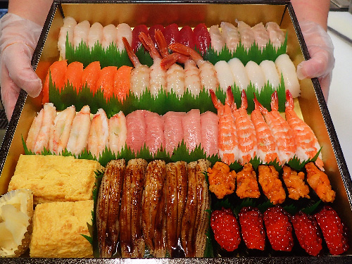 五番町 寿司 デリバリー