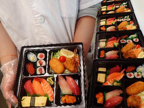 江東区亀戸 寿司 出前
