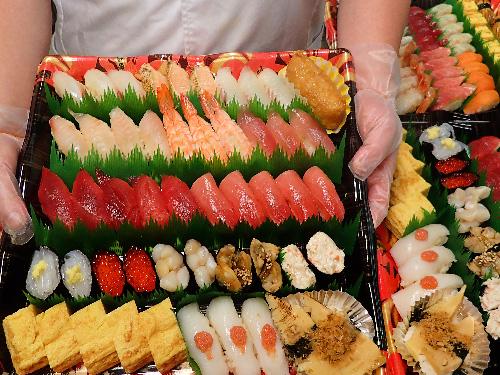 江戸川区松島 デリバリー 寿司
