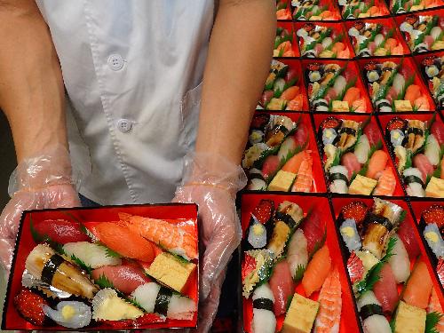 納会 寿司 出前