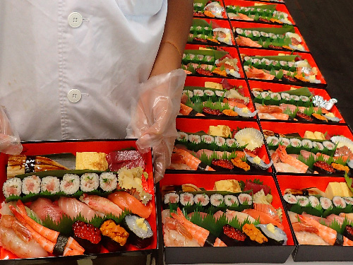 港区白銀台 デリバリー 寿司