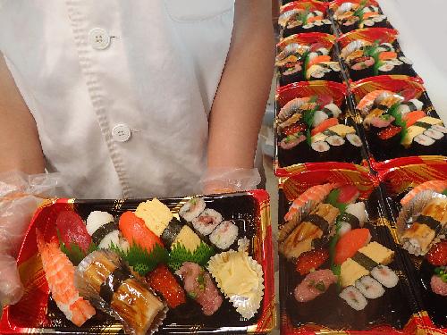 渋谷区恵比寿 寿司 出前