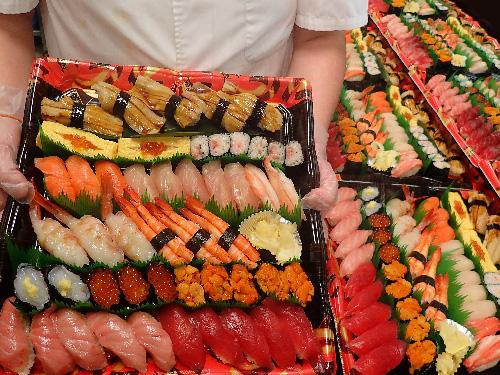 日本橋本石町 デリバリー 寿司