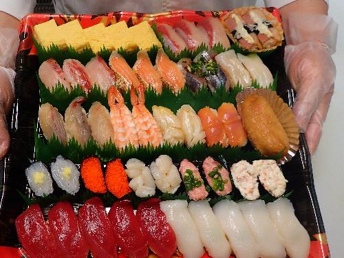 江東区 亀戸 寿司 デリバリー 美味しい