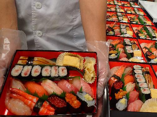 中央区入船 寿司 出前