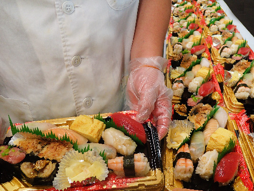 江東区常磐 デリバリー 寿司