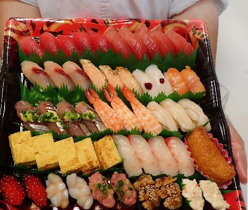神田美倉町 デリバリー 寿司