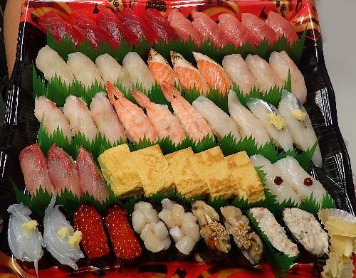 北砂 寿司 出前